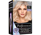 Loreal Paris Préférence hair color 9.12 Siberia Cold very light blond