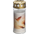 Bolsius Candle with lid Dove 16.5 x 7.5 cm 120 hours 450 g