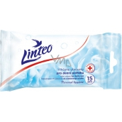 Linteo Wet napkins for daily use 15 pieces