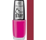 Dermacol 5 Day Stay Nail Polish lak nehty 03 10 ml