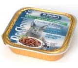 Dr. Clauders Kreveta + treska s kousky masa kompletní krmivo pro kočky 100 g
