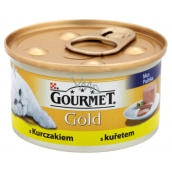 Gourmet Gold Cat Chicken fine canned adult cat 85 g