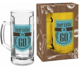 Albi My Bar Beer Mug with a Life Life begins after 60 500 ml