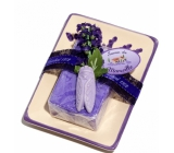 Le Chatelard Lavender ceramic soap with soap 100 g