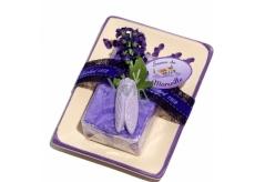 Le Chatelard Lavender ceramic soap with soap 100 g