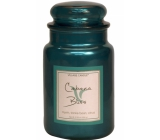 Village Candle A moment of rest - Cabana Bliss scented candle in glass 2 wicks 602 g