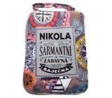 Albi Foldable bag with zipper named Nikola size: 42 cm × 41 cm × 11 cm