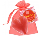 NeoCos Heart red gift soap in organza 30 g