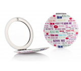Diva & Nice Double classic and magnifying mirror Kiss Me 7 cm