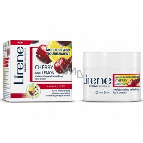 Lirene Hydration & Nutrition Cherry and lemon day and night cream 50 ml