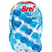 Bref Brilliant Gel All in 1 Arctic Ocean WC block with the scent of the ocean 3 x 42 g