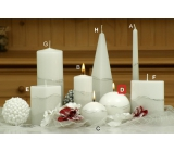 Lima Artic candle white ball 100 mm 1 piece