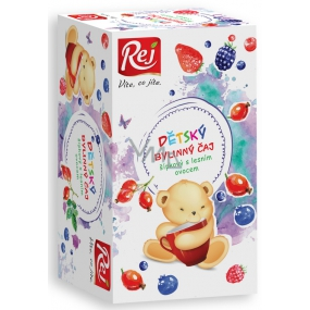 Rej Šípkový with wild berries Herbal tea for children infusion bags 20 x 26 g