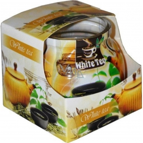 Admit White Tea - White tea scented candle in glass 80 g