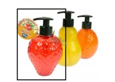 Elina Med Fruit Strawberry Liquid Soap 300 ml dispenser