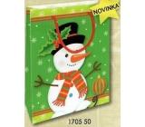 Nekupto Gift paper bag small 14 x 11 x 6,5 cm Christmas 1705 50 WBS
