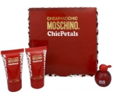 MOSCHINO Chic Petals Set edt 4,9ml + BL 25ml + SG 25ml