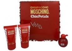 MOSCHINO Chic Petals Set edt 4,9ml + BL 25ml + SG 25ml
