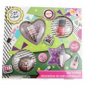 Chit Chat Cosmetic Cassette - Christmas tree ornaments