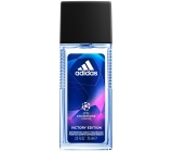 Adidas UEFA Champions League Victory Edition 75 ml men's scent deodorant glass