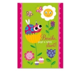 Ditipo Greeting Card Y - Ladybug Come Celebrate with Us! 224 x 157 mm, original song - Ladybug - Crayons
