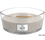WoodWick Sacred Smoke - Mystical smoke scented candle with wooden wide wick and lid 453 g