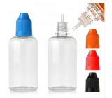 Transparent plastic bottle with a dropper 100 ml