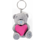 Me To You Plush keychain Heart pink 8 cm