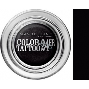 Maybelline Color Tattoo 24h eyeshadow 60 Timeless Black 4 g