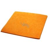 Clanax Petr Mycí hadr netkaný oranžový 60 x 70 cm, 180 g, 1 kus