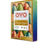 Ovo Effect golden glitter, 5 colors and 5 ml Set of 4 gel colors and golden glitter effect