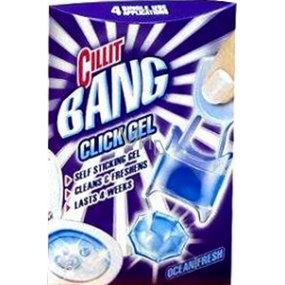 Cillit Bang Click Gel Ocean Fresh gel toilet cleaner 4 x 5 g