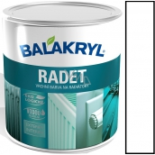 Balakryl Radet 0100 White Gloss top coat for radiators 0.7 kg