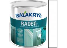 Balakryl Radet vrchní barva na radiátory 0100 Bílý Lesk 0,7 kg