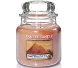 Yankee Candle Egyptian Musk - Egyptské pižmo vonná svíčka Classic střední sklo 411 g