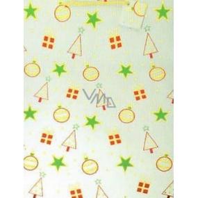 Nekupto Gift paper bag 46 x 33 x 10.5 cm Christmas 036 12 GXL