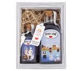 Bohemia Gifts Home Spa - Lavender shower gel 250 ml + bath salt 110 g, cosmetic set