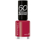 Rimmel London 60 Seconds Super Shine Nail Polish 313 Feisty Red 8 ml