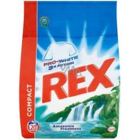 Rex 3x Action Amazonia Freshness Pro-White Washing Powder 20 doses 1.5 kg