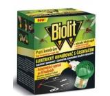 Biolit s časovačem k hubení komárů + Elektrický odpařovač tekutá náplň