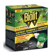 Biolit with mosquito control timer + Electric liquid vaporizer