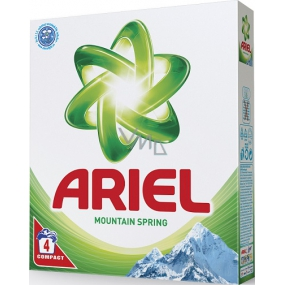 Ariel Mountain Spring washing powder for clean and fragrance-free stains 4 doses of 280 g