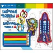 Shrink Technology 3D 04 Rocket 18 x 15,5 cm
