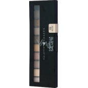 Gabriella Salvete Palette 10 Shades palette of eye shadow with mirror and applicator 02 Nude 12 g
