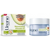 Lirene Rejuvenating Avocado Oil Hydration and nutrition avocado oil day / night hyaluronic cream 50 ml