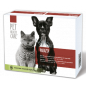 Pet Health Care Parazyx Anti-redness even after re-treatment dog, cat up to 15 kg 22 tablets