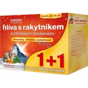 Cemio Clover with turtle and Siberian ginseng for body resistance tabl.90 + 90 gift
