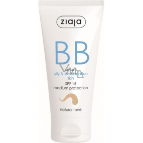 Ziaja BB Cream Fatty, Mixed Skin tone natural SPF15 50ml 8351
