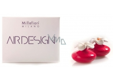 Millefiori Air Design Diffuser flower mini red 2 pieces