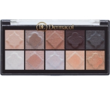 Dermacol Eyeshadow Palette Matt and Pearl Eye Shadow Palette 02